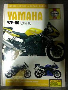 Haynes-owners-workshop-manual-Yamaha-YZF-R6-2003-2005-Hardback-version