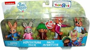 Peter-Figure-amp-Rabbit-Adventure-Set-Friends-con-le-braccia-da-Nick-Jr-Bambini-Giocattoli