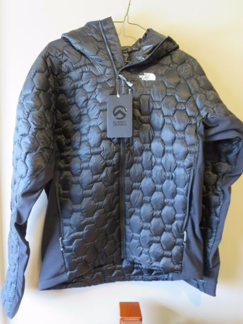 Mens New North Face Summit L4 Jacket Size Small Color TNF Black