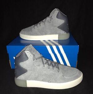 0 Originals 2 Grey 6 Hi Trainers white Top Basketball Tubular Uk Invader Adidas B1XWXd