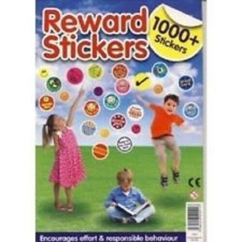 Childrens Reward DIY Stickers For Kids Motivation M Praise-School-Teac I3D9 Y3A4