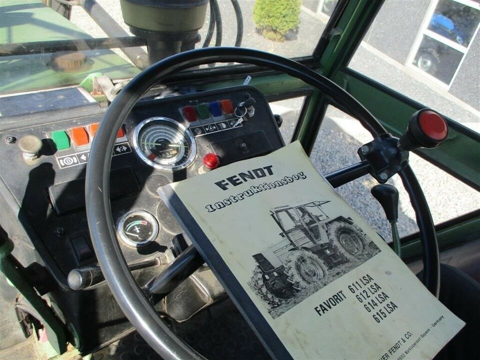 Fendt, 612 Favorit LS Turbomatik, timer 10639