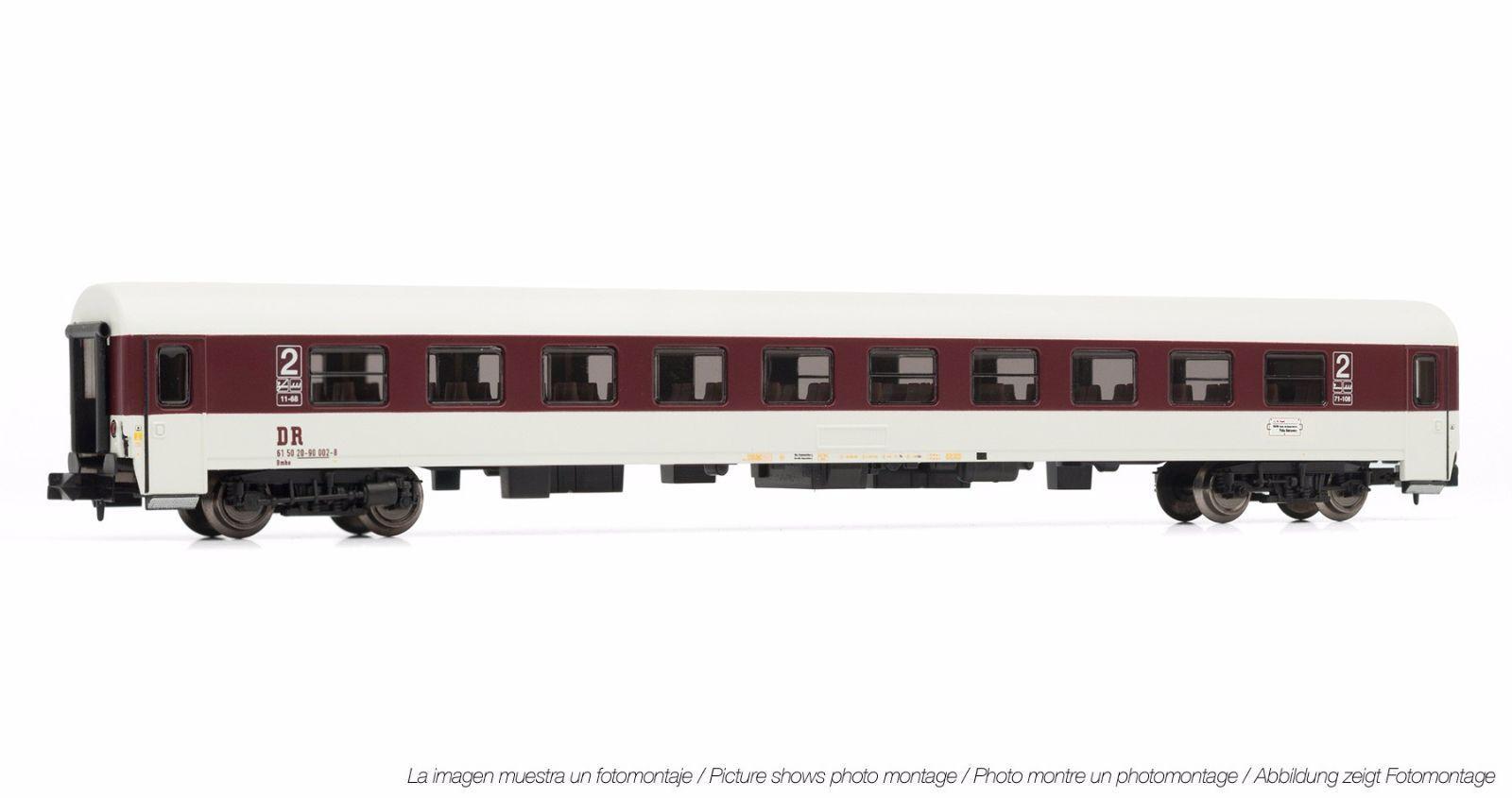 """Arnold Hn 4197 Vagón Expreso 2. Klasse """"Komfortwagen """" el Dr Ep.4, Rda Ic Vagón"""