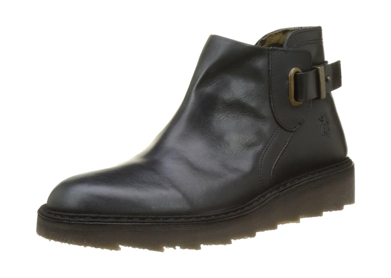 Fly London Women''s Amie954fly Desert Boots Black (Black) 3 UK