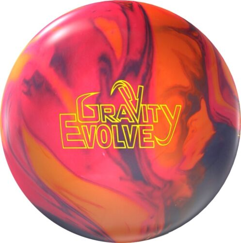 14lb NIB Storm GRAVITY EVOLVE New 1st Quality Bowling Ball GUNMETAL//FIRE//CRIMSON