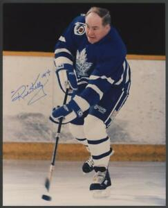 RED-KELLY-signed-8x10-photo-Toronto-Maple-Leafs-Autograph-HOF