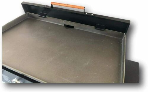 """Made in USA Black Aluminum Lid Storage Cover for 36/"""" Blackstone Griddle"""