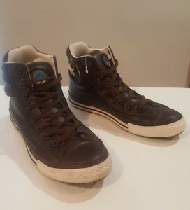 all star converse homme marron