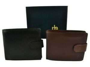 Mens-Quality-Leather-Wallet-by-Prime-Hide-Gift-Boxed-Stylish-with-Coin-Pocket