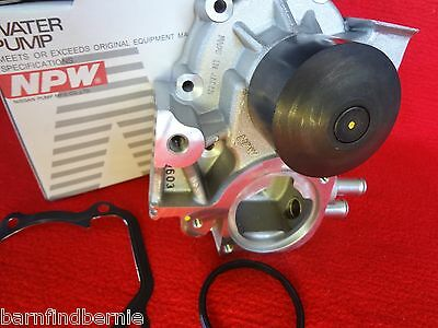 NPW Water Pump Kit for Subaru Impreza WRX Forester XT EJ255 Alternate to OEM