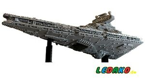 LEGO-Komplett-Set-MOC-fuer-Star-Wars-Imperial-Star-Destroyer-UCS-ueber-15000-Teile