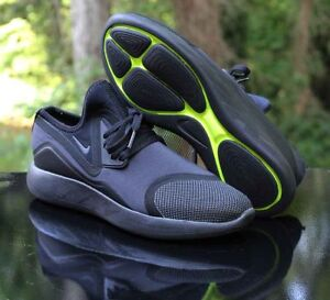 4624a86c9a Image is loading Nike-LunarCharge-Essential-Triple-Black-Volt-923619-001-