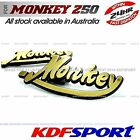 KDF STICKER DECALS TANK BADGE Z50J MINI TRAIL 50 PARTS 50 FOR HONDA MONKEY Z50