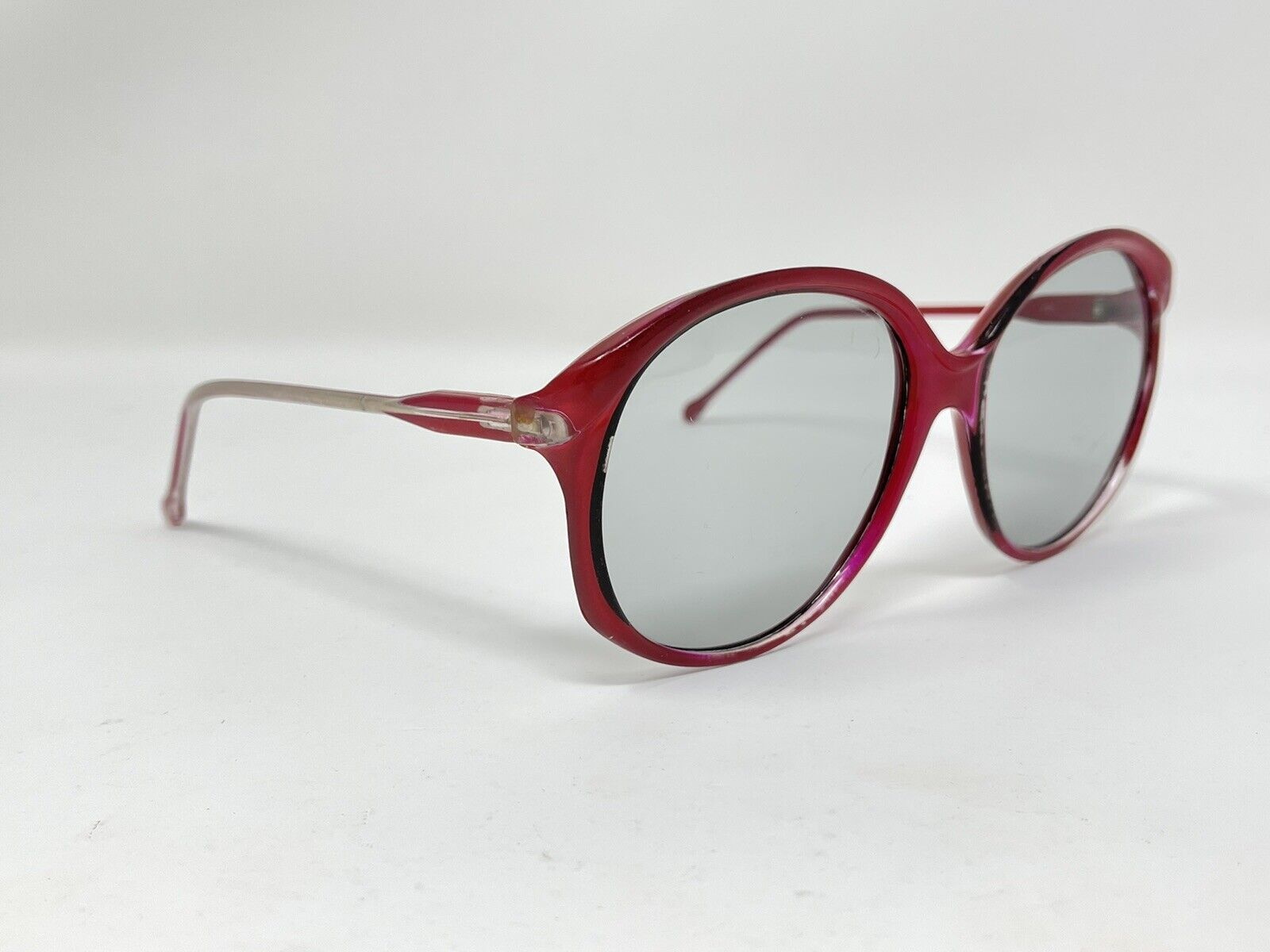 vintage Sunglasses Big Photocromatic Red SUNGLASS… - image 1