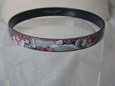 Vintage Michaela Frey Austria Bracelet Bangle Enamel