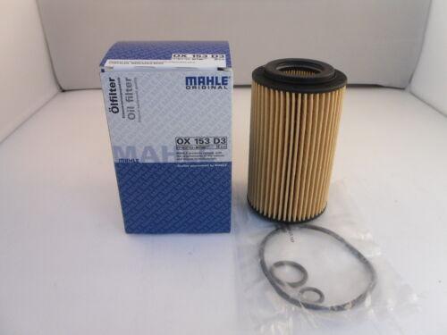 Mercedes C//CLC//CLK//E//M//V Classe Sprinter 2.1 2.7 CDi Filtre à huile MAHLE OX153D3 2.2