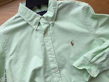 Polo Ralph Lauren Longsleeve Spring Lime Buttondown Oxford Shirt Large L Men $90