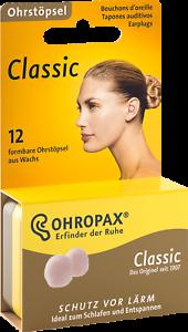 Ohropax Classic Earplugs/ 6/Pairs