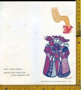 Buon Natale Originale.Ex Libris Ex Libris Originale B 943 Buon Natale Gianni Mantero
