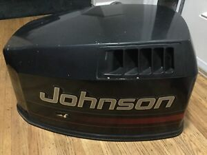 1995 JOHNSON 115HP V4 TOP COWLING ENGINE COVER 0436874 0436871