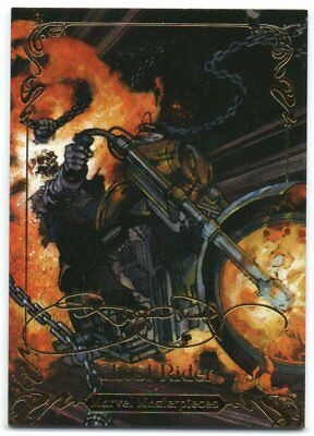 Marvel Masterpieces 2018 Tier 2 Base Card 54 Ghost Rider 1499
