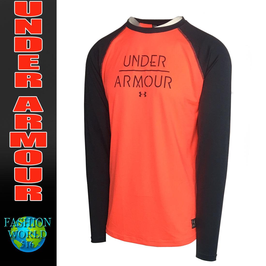 sporttops under armour men's ua halen long sleeve graphic