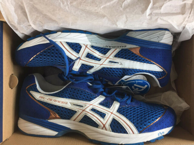 Comunista Viaje mitología  ASICS Gel-ds Racer 8 Blue/white/copper Men's Running Shoes Size 13us for  sale online | eBay