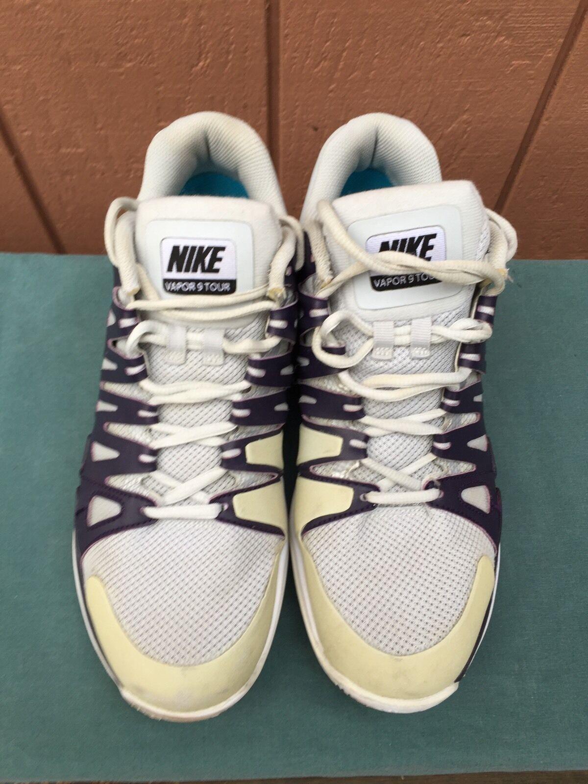Women's Nike Zoom Vapor 9 Tour Tennis Shoes Sneakers 543222-045 US Sz 9  Brand discount