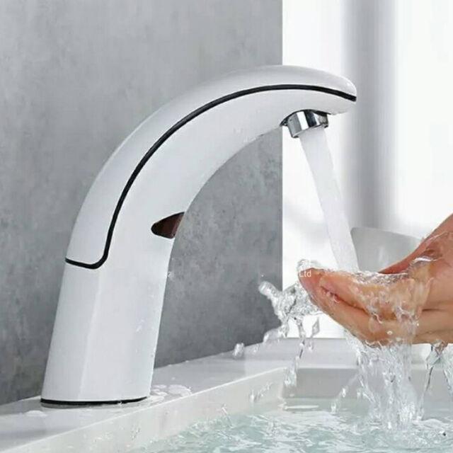 FsModern Automatic Sensor LED Faucet Touchless Basin Sink Vessel Taps