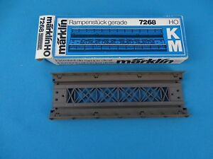 Marklin-7268-Straight-Bridge-Ramp-Track-M-or-K