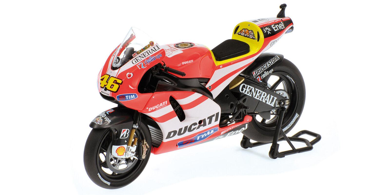 Ducati Desmosedici Valentino Rossi 2011 Minichamps 1 12Th Model MINICHAMPS