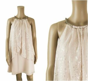 ex-Coast-Halter-Neck-Silk-Mix-Party-Races-Prom-Formal-Cocktail-Occasion-Dress