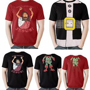 Mens-Christmas-T-Shirt-Novelty-Print-Explicit-Top-Funny-Rude-Joke-Xmas-Gift