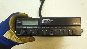 1984       Honda       Goldwing    GL1200 Aspencade H805 Panasonic    radio