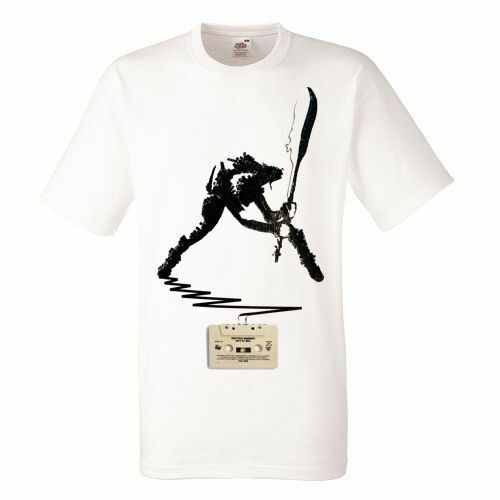 The Clash London Calling White T-shirt Rock Band Shirt Heavy Metal Tee