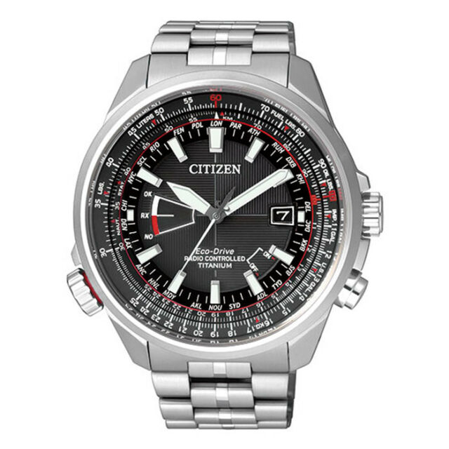 e46b57ee8a1b Reloj Citizen The Pilot Titanio Radiocontrolado CB0140-58E ¡Envío 24h  Gratis!