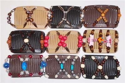 """Angel Wings Mini Hair Clips Quality MC9 3x2.5/"""" Magic African Butterfly Style"""