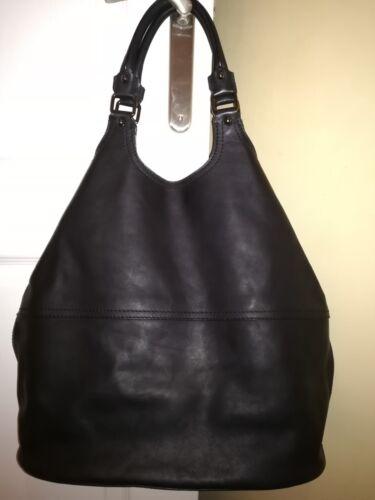 Beau Givenchy Très Tout Fourre En Cuir Style Noir Sac SwZqpf