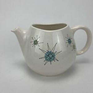 Franciscan-Starburst-Vintage-MCM-Teapot-Base-Only-Atomic-READ