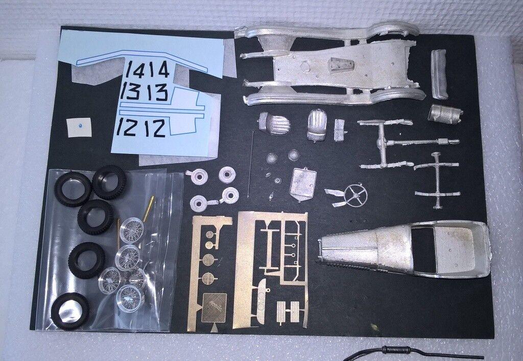 OM 665 Superba Mille miglia '27  12-13-14 1 43 KIT di montaggio A&G modelli RARE