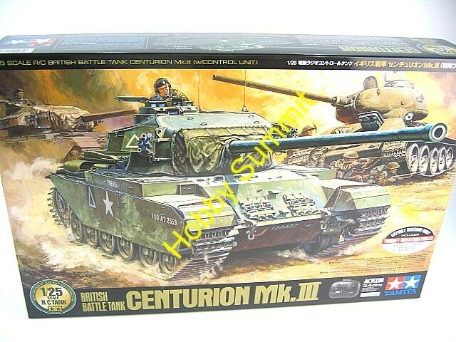 Tamiya 1/25 R/C British CENTURION MK III  Full Set 2.4GHz Battle Tank Kit  56604