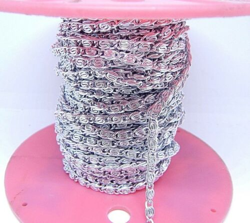 NEWSilver plate Rope Chain 3.5mm,Sold by the Yard 1 yard,5 yards,/&10 Yards CH132