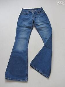 Levi-039-s-544-Schlag-Jeans-Hose-W-27-L-34-RAR-Hippie-Schlaghose-KULT-Denim