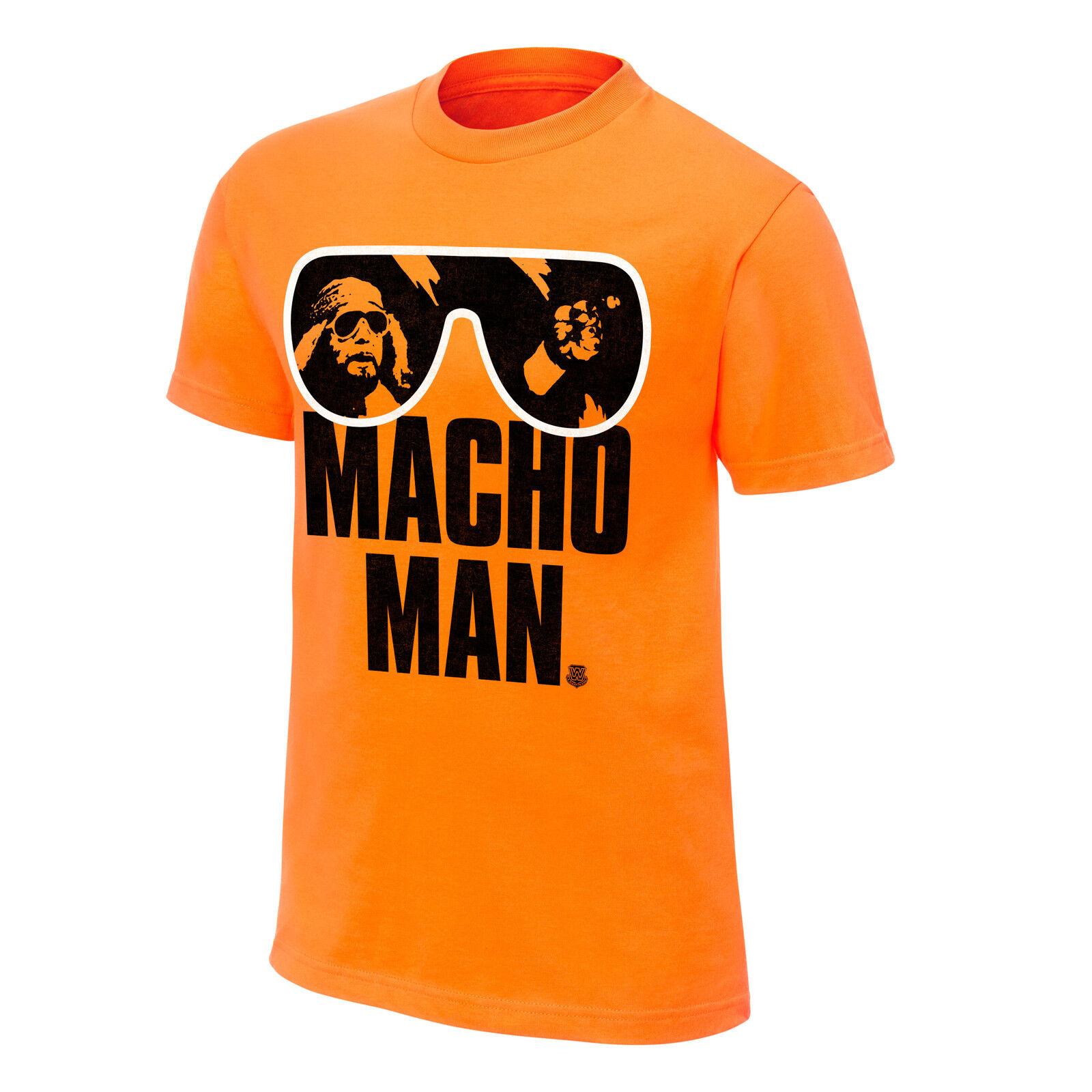 WWE Macho Man Randy Savage T-Shirt Orange L XL neu und ungetragen OVP WWF   | Nicht so teuer  | Outlet Store Online  | Qualitätskönigin