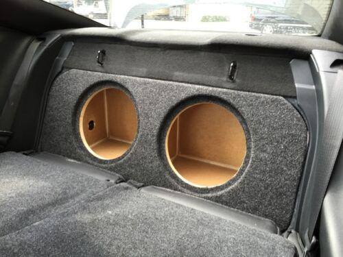 "ZEnclosures 2015 V2,FF Mustang 2-12/"" FRONT FIRE Subwoofer Box Sub Speaker Box"