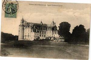 CPA Chateau de Grillemont par Ligueil - (228650)