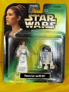 Star Wars - Power of the Force - Princess Leia & R2-D2 (Leia Collection)