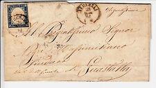 SARDEGNA-20c(15D)-Lettera viaggiata Vercelli->Guastalla 21.5.1861