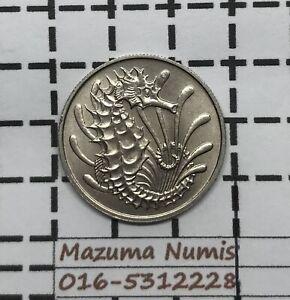 Mazuma *FC56 Singapore 1967 10 Cents UNC/BU