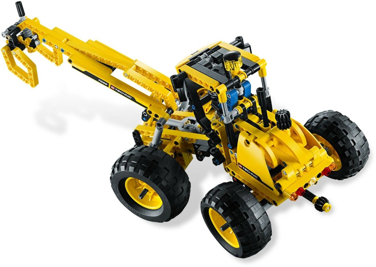 First Edition MINT LEGO 8069 Technic Backhoe Loader Front Loader Loader Loader Log Handler d606e1